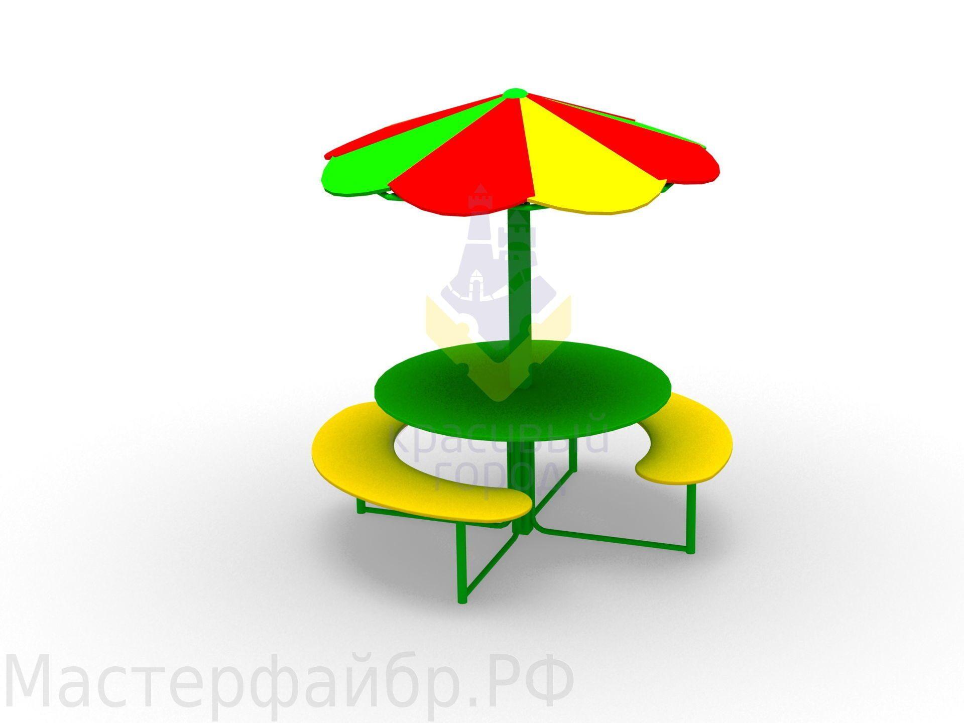 Столы для детской площадки своими руками