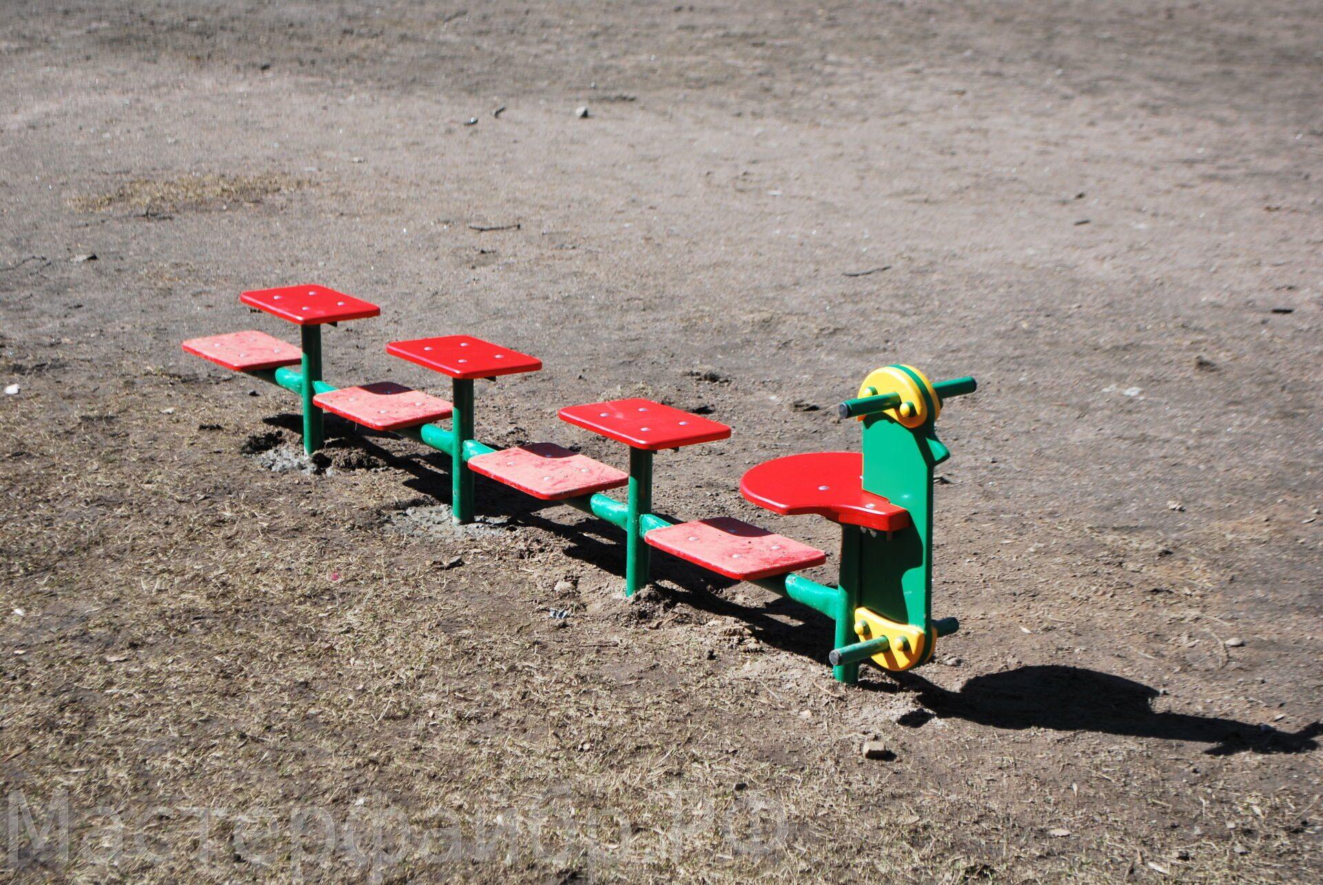 Детская площадка своими руками. Идеи для детской площадки 60